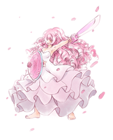 Rose Quartz Coloured by Vether