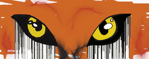 Eyes of a Maned Wolf by HaloneWolf