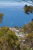 View from Mt Nelson Track by KittenKiss