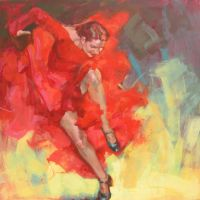 flamenco fire! 2.. by renatadomagalska