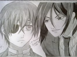 ciel and sebastian by chemi94