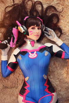 D.Va Cosplay by adami-langley