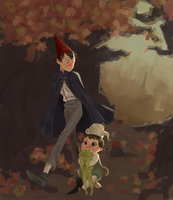 Over the garden wall by KowaiRazor