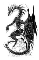 Dragon Tattoo Thingy by Aishishi