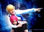 To the relay ! RIN CHAN ! by Lightninglouise