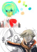 P3 fanarts unfinished forevverrr by aolinae