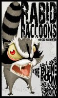 Rabid Racoons by Illustrationdan