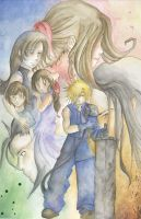 Final Fantasy VII: Finish by tunetherainbow