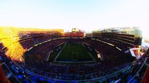 Sunset At Super Bowl 50 ... by Heart-in-my-Head