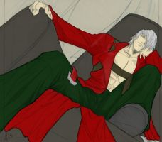 Dante Relax'n By Starxade by satanX15