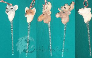 Original Christmas Ornaments by Feather-Collector
