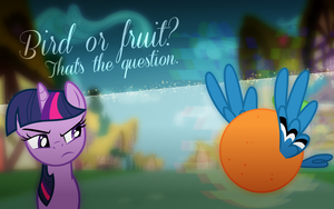 Bird or fruit? by Barnacle84