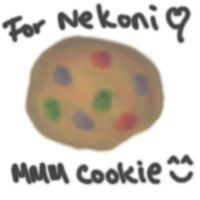 Cookie for Nekoni by rindora