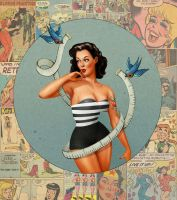 Pin up girl by room4shoes