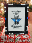 Cross-Stitching is Sew Much Fun by FrogAndCog