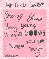 Fonts :3 by PauTomlinson