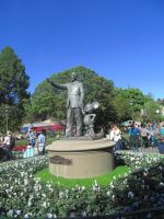 Walt Disney and Mickey Mouse Statues by BigMac1212