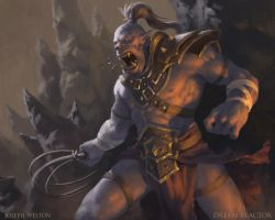 Orc Slaver by Jaasif