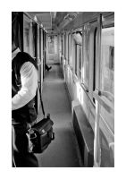 In the train, 2010 by snaplife