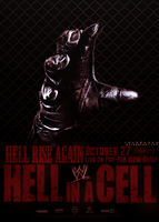 Hell In A Cell 2013 Poster by JoKeRWord