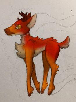 The Deer by SomeSoap