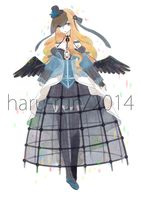 |AU/C| Quick Adopt#1 : Lady Crow | SB Reduced + AB by s-p-ri-ng