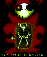 Skeletons in my Closet by theStupidButterfly