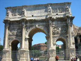 Arch of Constantine by seanpt