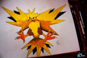 Zapdos by NChicaGFX
