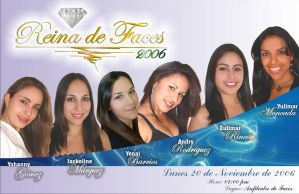 Afiche Reina Faces 2006 by Mortifago13