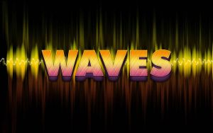 Texto Waves PSD by GianFerdinand