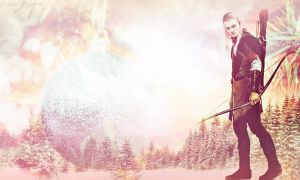 Legolas-Holiday Wallpaper by LadyAnnatar