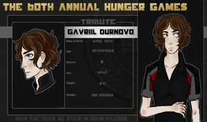 Hunger Games Gavriil by TempestChime
