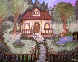 My Dream Cottage by Terrauh