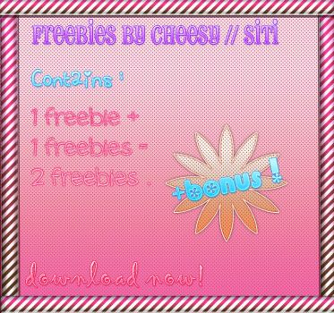 Freebie pack +BONUS by siti97