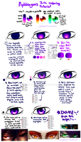 Iris Coloring Tutorial by prpldragon