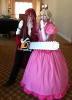 Grell and Peach by Saya1984