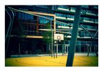Basketball Court by kolla85