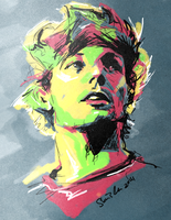 louis tomlinson by goldminegoldmine