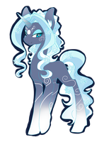 Adoptable Weather Pony 1/4: Winter Auction {CLOSE} by KemonomimiAdop