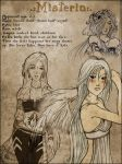 Character sheet: Misteria by sionra