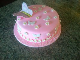 Butterfly cake by Lucrecia1511
