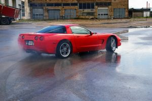 Chevrolet Corvette C5 sideways by ShadowPhotography