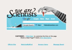 We Are Scientists Startpage by AwesomeStart