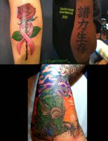 Tattoos by Jake Collage 12 by MuddyGreen