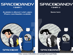 Space Dandy t-shirt / Phone case by Fenx07