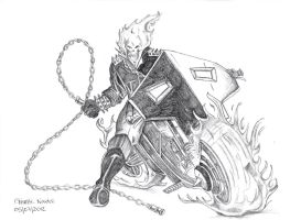 Ghost Rider by chizzel