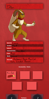 Guildmaster - Ranger Leader - Dillon Ref by The-Chibster