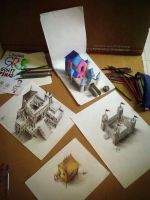 My 3d Drawing Collection  by ATCdrawings