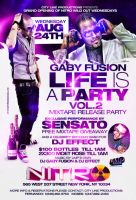 Life is a party flyer by DeityDesignz